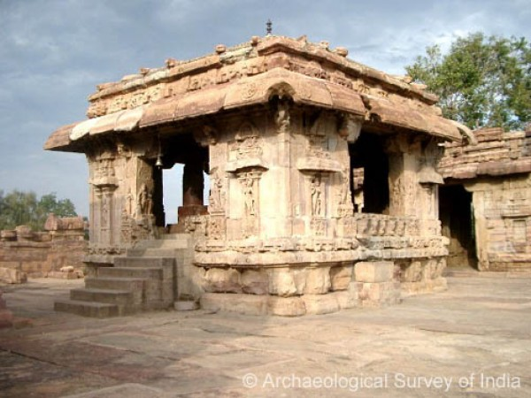 Pattadakal photos, Mallikarjuna Temple - A Distant view