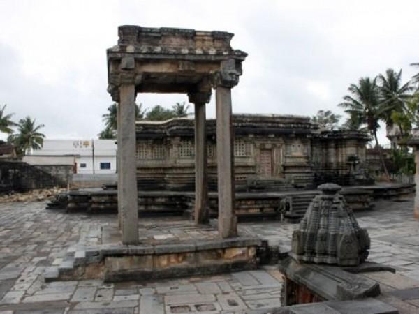 Belur photos, Kappe Chennigaraya Temple