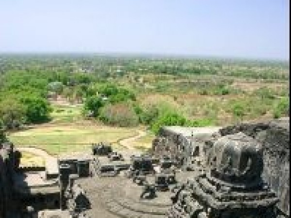 Ellora photos, Brahmanical Group of Caves - Temple Top