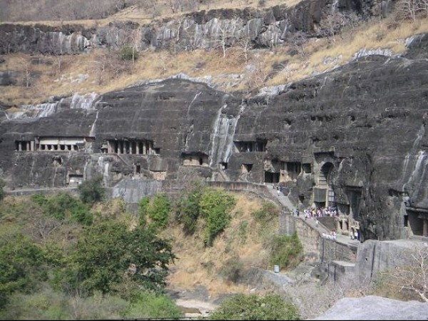 Ajanta photos, Ajanta Caves - From A Distance
