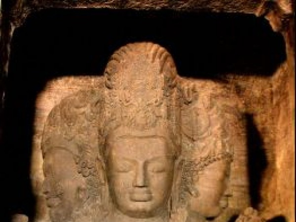 Elephanta photos, Trimurti