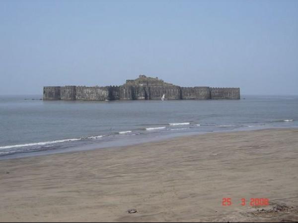 Murud Janjira photos, Janjira Fort - Distant View