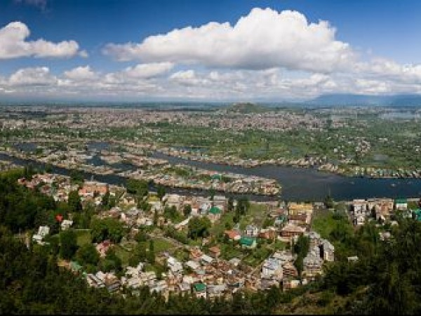 Srinagar photos, Srinagar - A Distant View