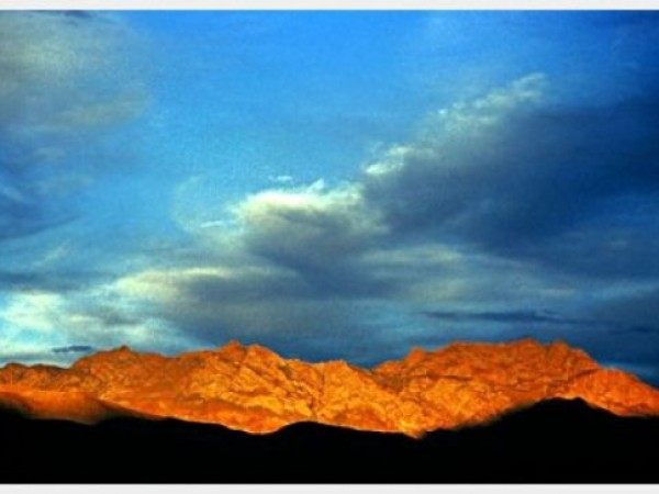 Kargil photos, Kargil Sunset