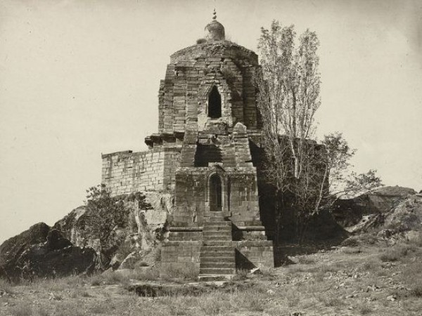Srinagar photos, Shankaracharya Temple - A Complete View