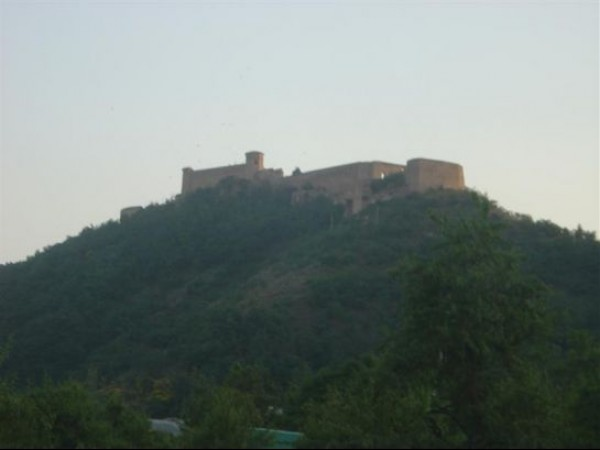 Srinagar photos, Hari Parbat Fort - A Low Angled Distant View