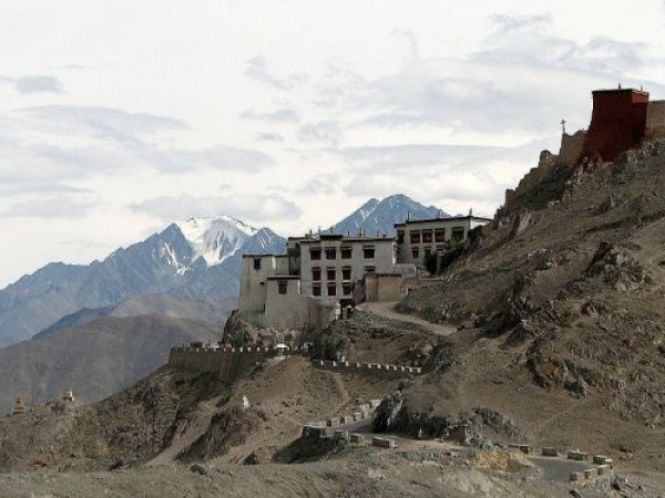Ladakh photos, Shey Gompa - A distant view