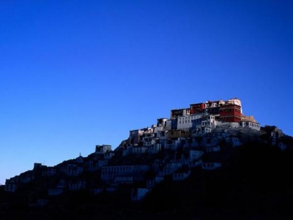 Leh photos, Thiksey Monastery