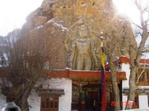 Kargil photos, Mulbekh Monastery
