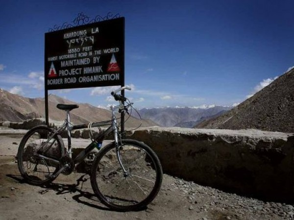 Leh photos, Mountain Biking