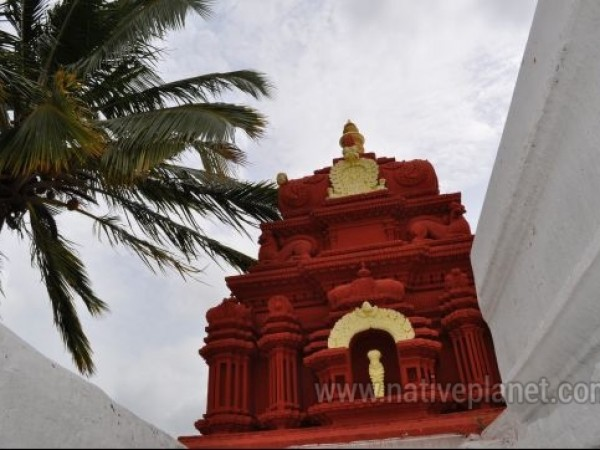 Mysore photos, Chamundi Hills - A small temple on the hill.