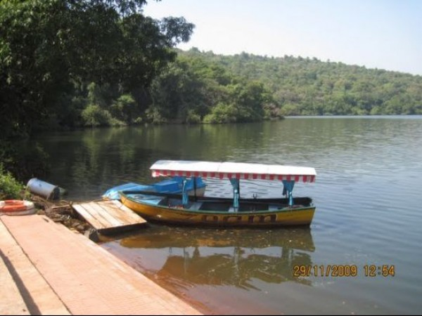 Amboli photos, Amboli Lake - WIth a Docked Boat