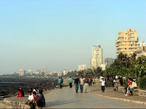 Mumbai photos, Bandstand - An Evening
