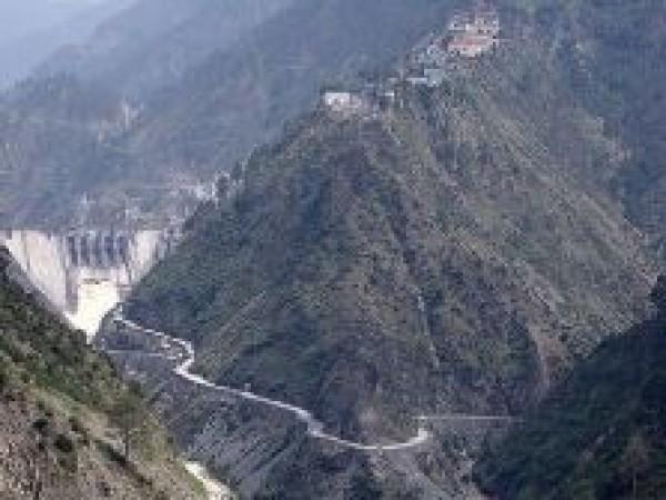 Doda photos, Baglihar Dam Chenab River