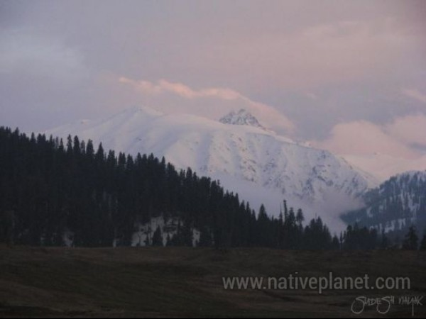 Gulmarg photos, Gulmarg Sunset