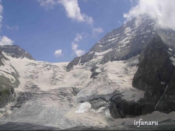 Pahalgam photos, Kolahoi Glacier