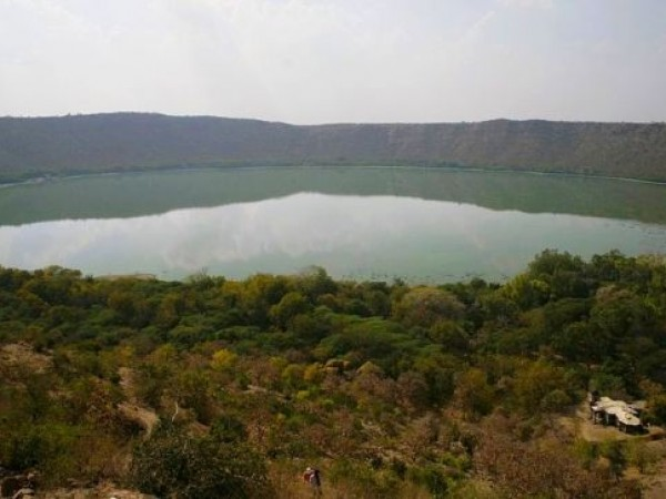Lonar photos, Lonar Crater - Complete View
