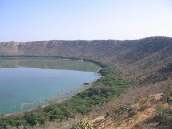 Lonar photos, Lonar Crater - Crater That Turned Into a Lake