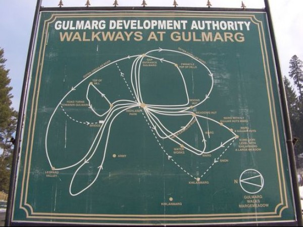 Gulmarg photos, Outer Circle Walk