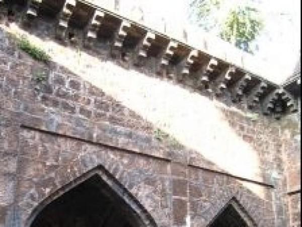 Panhala photos, Panhala Fort - Side View