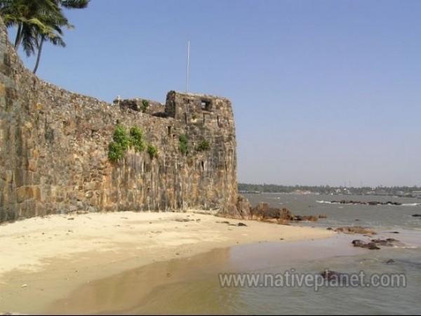 Sindhudurg photos, Sindhudurg Fort - A Side view