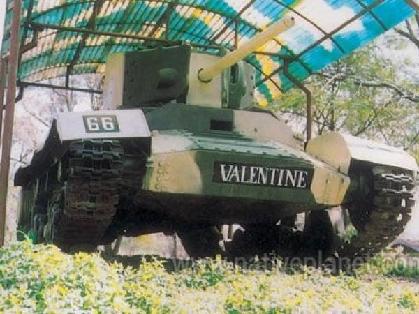 Ahmednagar photos, Tank Museum