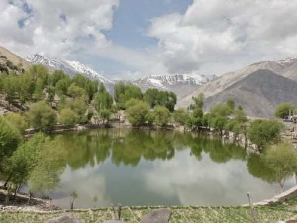 Kinnaur photos, Nako Lake - A view