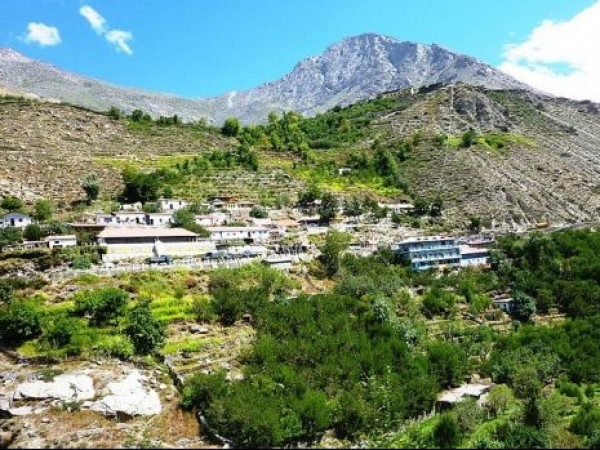 Kinnaur photos, Poo - A view