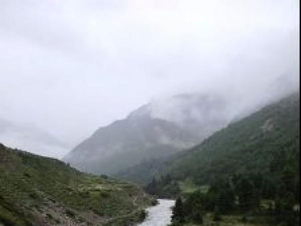 Sangla photos, Chitkul - Baspa River during Monsoon