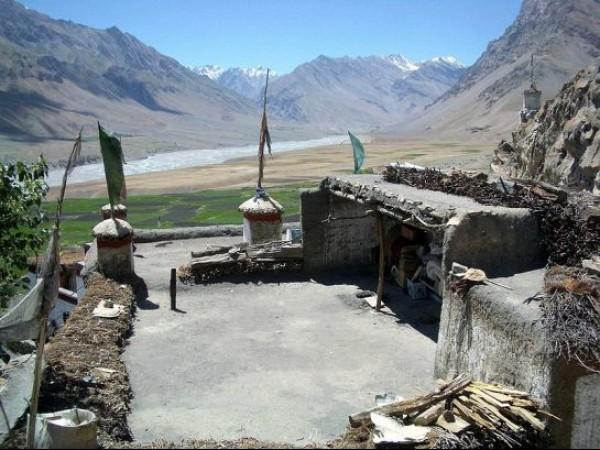 Spiti photos, Key monastery - A view