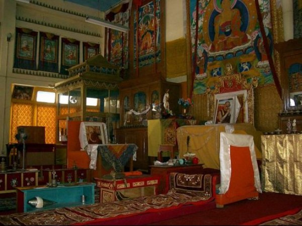 Tabo photos, Tabo Monastery - Inside View