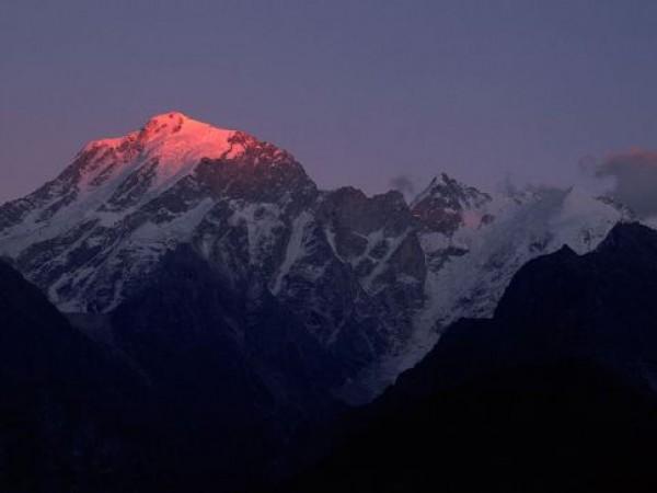 Kalpa photos, Kinner Kailash - During Monsoon