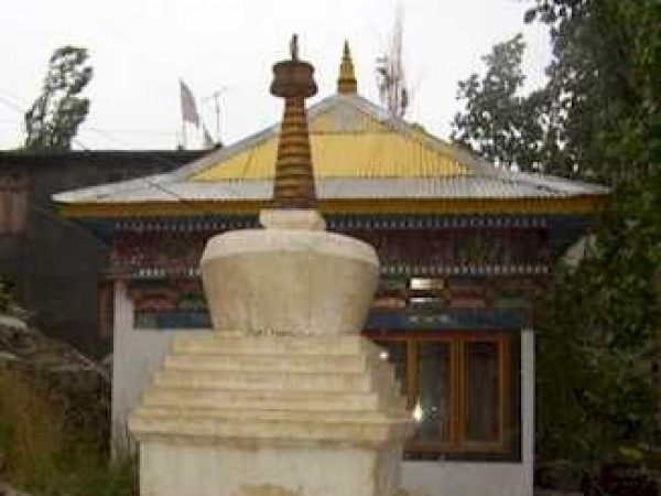 Keylong photos, Kardang Monastery - From the outside