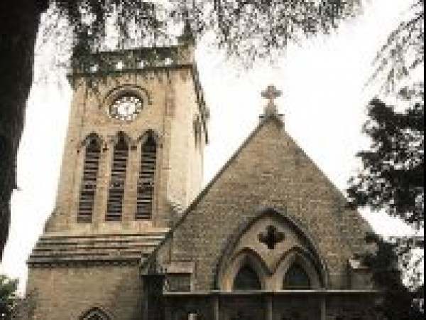 Kasauli photos, Christ Church - The 19th century edifice