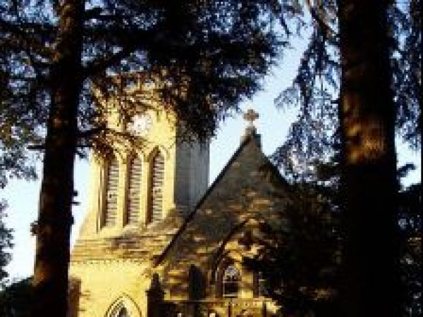 Kasauli photos, Christ Church - During mornings