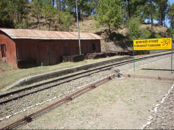 Kasauli photos - A view of Railway Station