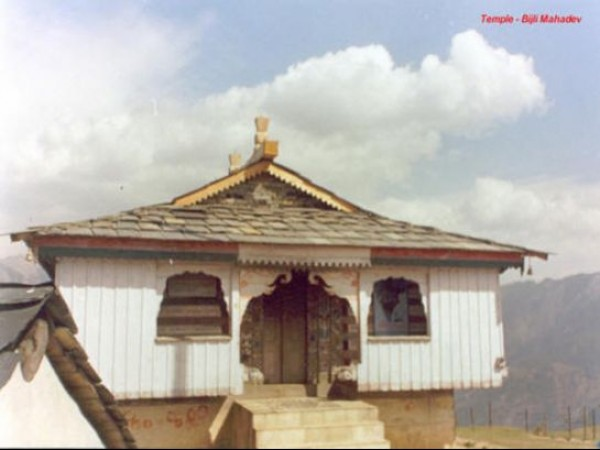 Kullu photos, Bijli Mahadev Temple - The exterior view