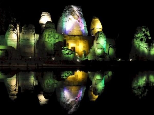 Kangra photos, Masrur Temple - Vibrant Image of Masrur Temple