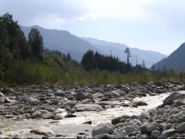 Manali photos, Beas Kund - View of Beas River
