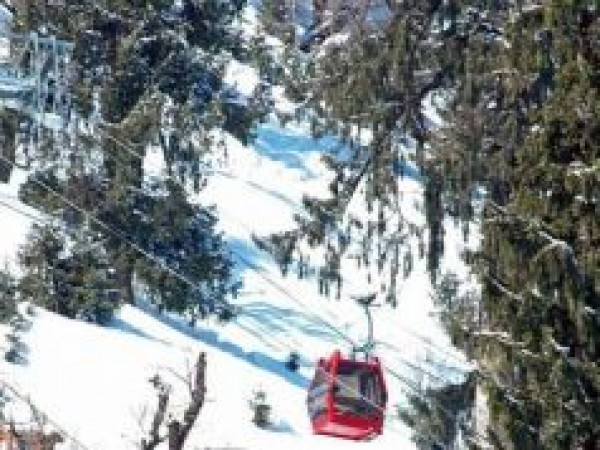 Manali photos, Solang Valley - Panoramic View by Ropeway