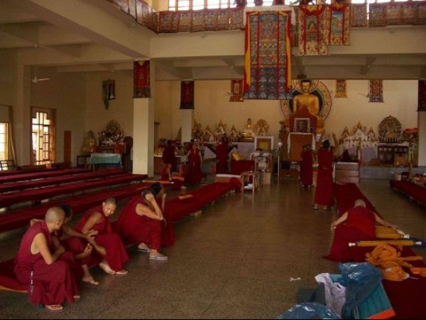 Dharmashala photos, Gyuto Monastery