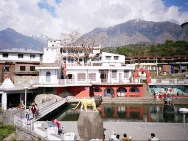 Palampur photos, Chamunda Devi Temple - A distant view