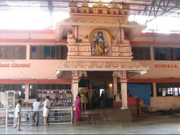 Udupi photos, Krishna Temple - Goshala or the Temple Cowshed