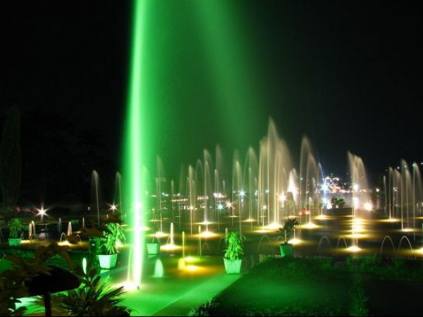 Mysore photos, Brindavan Gardens - Illuminated Waters