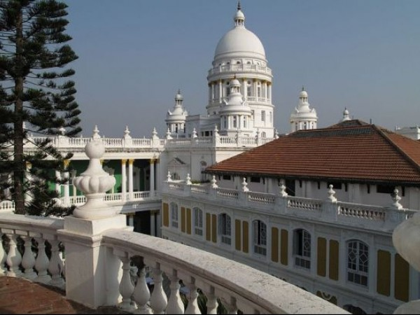 Mysore photos, Lalitha Mahal - As Seen From The Terrace