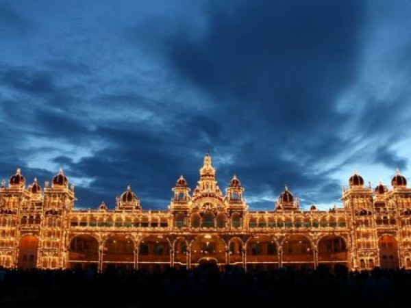 Mysore photos, Mysore Palace - A Scenic View