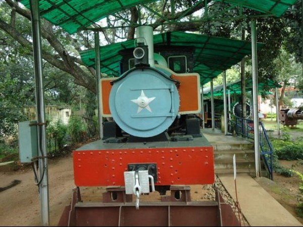 Mysore photos, Rail Museum - Train Engine Model