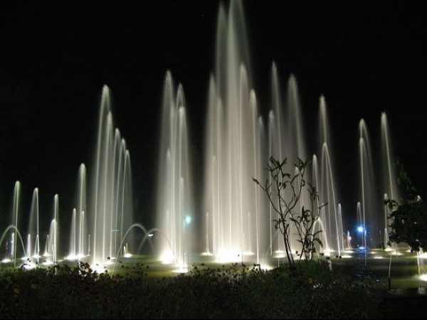 Mysore photos, Brindavan Gardens - The Fountain