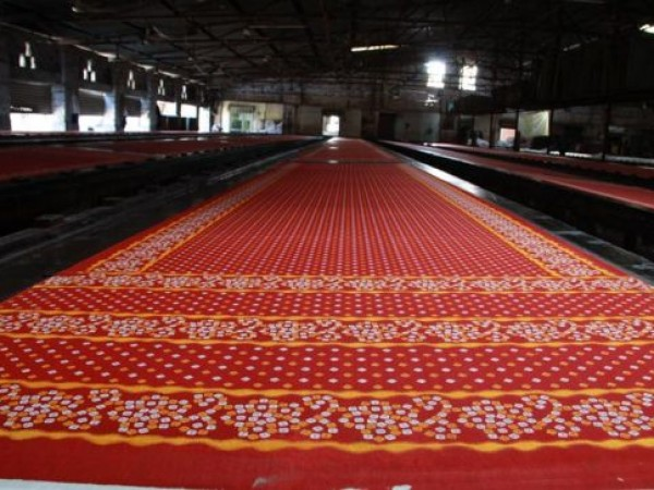 Rajkot photos, Jetpur - A Printed and Colour Dyed Fabric