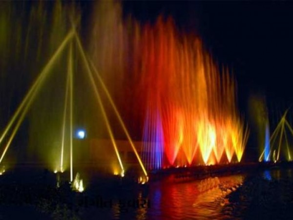 Ahmedabad photos, Science City - Laser Show